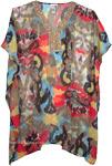 Exotic Short Kaftan Dress with Sequins