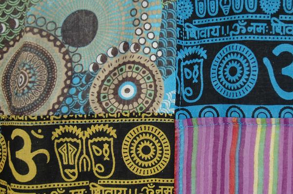 Ethnic Patchwork Boho Hippie Dress