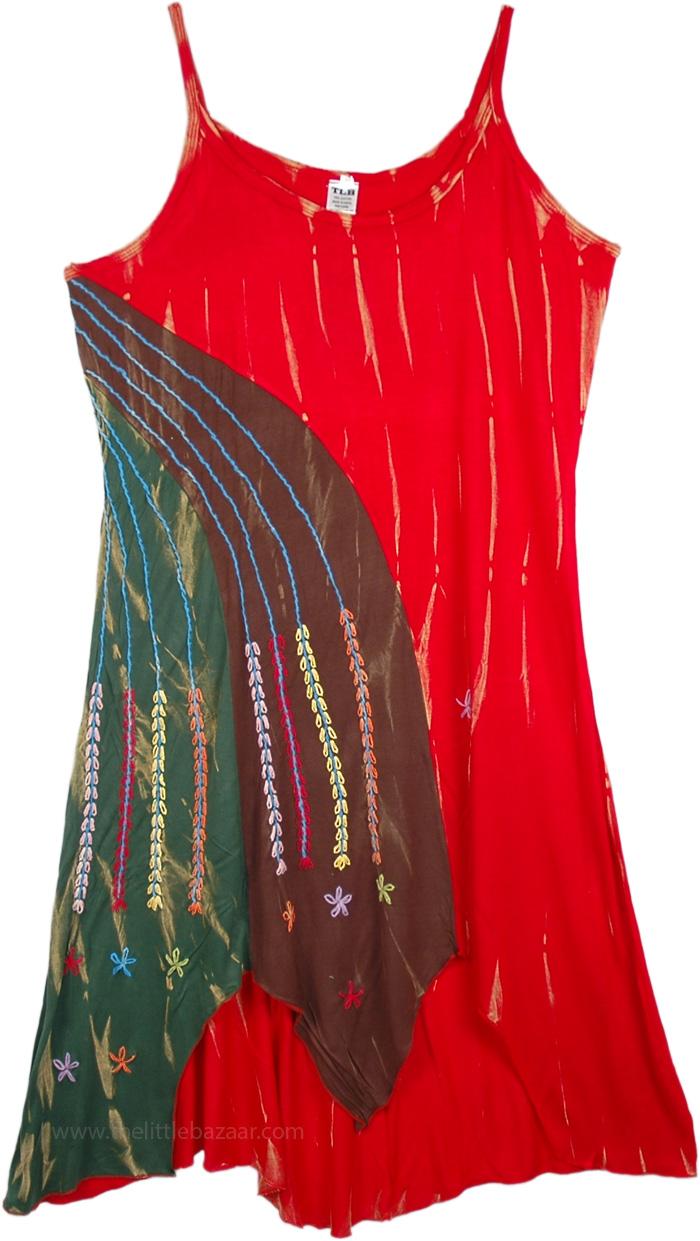 Simply Cute Flower Long Dress, Lively Autumn Harvest Dress