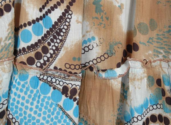 Printed Bohemian Summer Maxi Dress Soft Printed