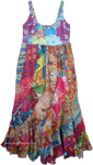 Gypsy Hippie Chic Summer Cotton Maxi Dress