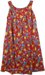 Rasputin Floral Colorful Cotton Dress