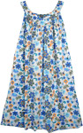 Daisy Floral Simple Cotton Summer Dress