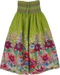 Gorgeous Green Dress Skirt