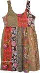 Cape Palliser Floral Patchwork Boho Dress