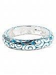 Blue stretch bangle bracelet [1024]