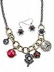 Boho Jewelry Charm Necklace