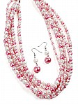 Pink Fashion Jewelry [1385]