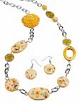 Yellow  Fashion Jewelry [1389]