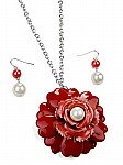 Red Pendant  Fashion Jewelry [1390]