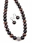 Beaded Brown Jewelry [1476]