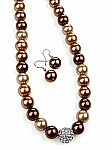 Beaded Topaz Fashion Jewelry [1477]