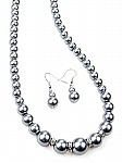 Gray Pearl Costume Jewelry