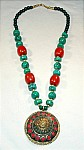 Necklace Jewelry with Medallion [1701]