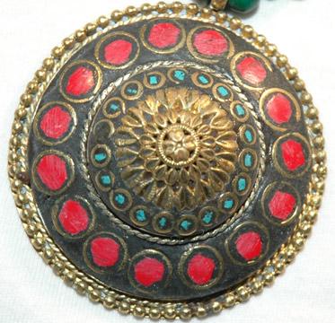 Green Beaded Fashion Jewelry