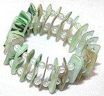 Green  fashion bracelet [1705]