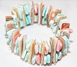 Multicolor Shell Bracelet