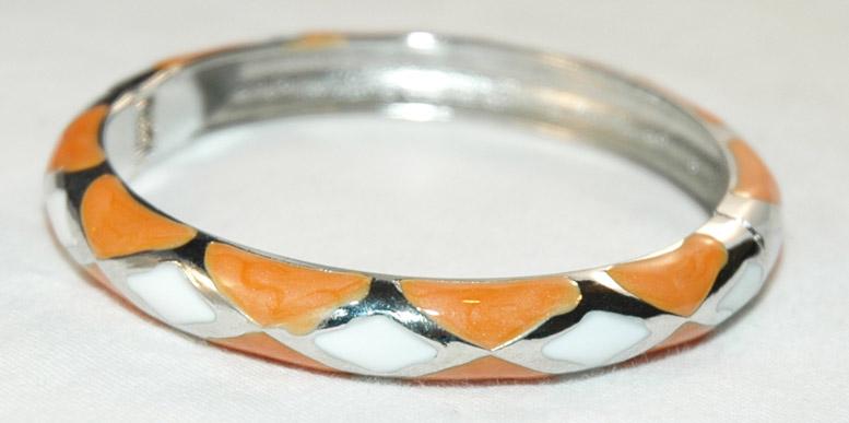 Silver tone bracelet, Fashion Bangle Bracelet