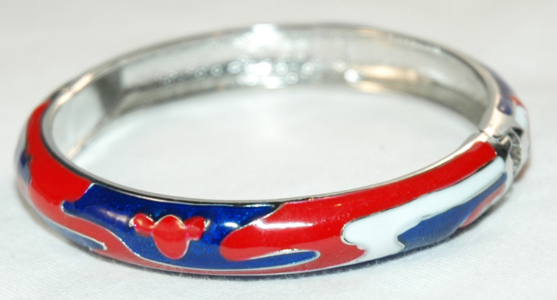 Fashion bracelet, Silver Bangle Bracelet