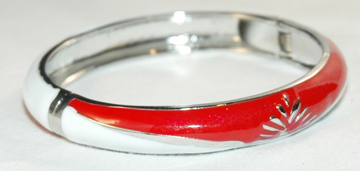 Silver tone bracelet, Jewelry Bangle Bracelet
