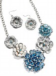 Blue and White Fashion Jewelry [1729]