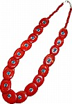 Red bone necklace [2549]