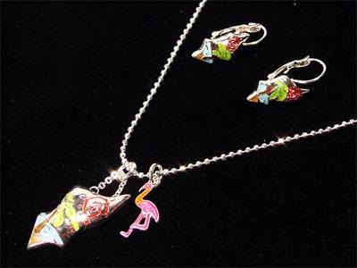 Bikini necklace set fashion jewelry, Beach Neck Set
