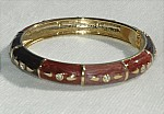 Brown Enamel Bracelet -
