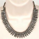 Tiny Hearts Boho Gypsy Choker Necklace