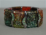 Designer Resin Stretch Bracelet