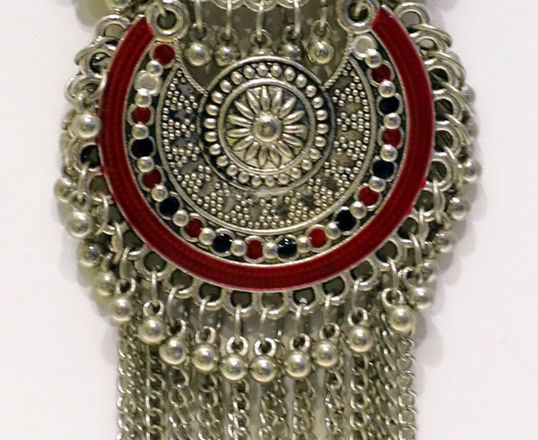 Indian Lake Silver Fashion Necklace