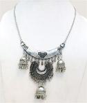 Turkish Style Choker Neck Wear Jewelry in Silver