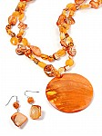 Orange Beaded Jewelry