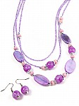 Purple Costume Jewelry