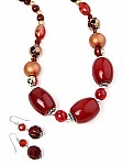 Beaded Jewelry in Red