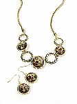 Designer Jewelry w/ Animal Print