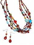 Multicolor Beaded Costume Jewelry