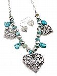 Heart Turquoise Jewelry