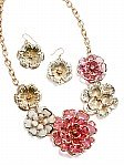 Stylish Pink Costume Jewelry