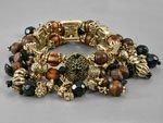 Antiqued Gold Tone Bracelet