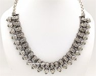 Choker Afghani Necklace Silver Traditional Jewelry