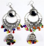 Colorful Bohemian Beaded Gypsy Earrings
