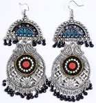 Big Tribal Belly Dancing Earrings Handmade