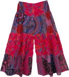 Aloha Cute Little Girls Cotton Palazzo Pants