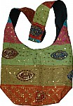 Indian handbag with sequins [1029]
