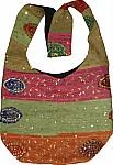 Patchwork Sequined Handbag Purse