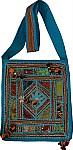 Turquoise Sling Bag