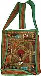 Fabric Handbags in Green