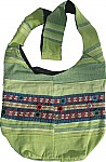 Cotton Fabric Shoulder Bag