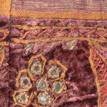 Tawny Port Velvet Trendy Handbag